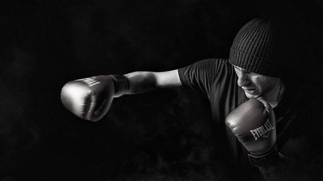 シャドウボクシングの画像