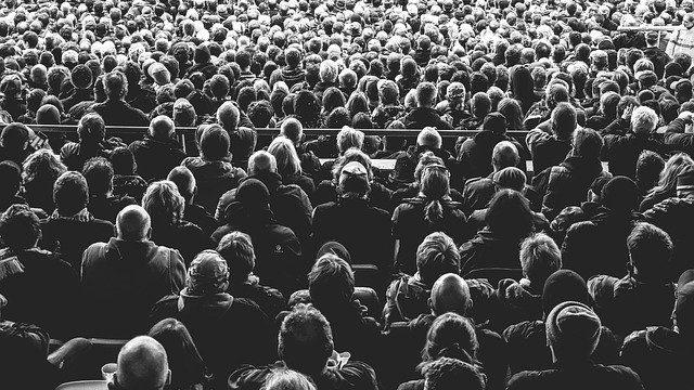 観客の画像