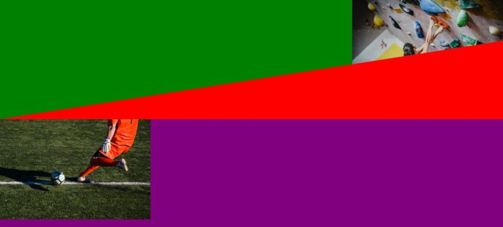 三角形の色を変えた図